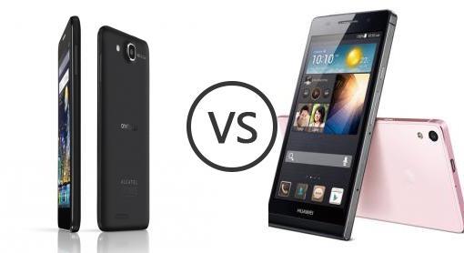 Alcatel One Touch Idol Ultra vs Huawei Ascend P6 - Phone ...