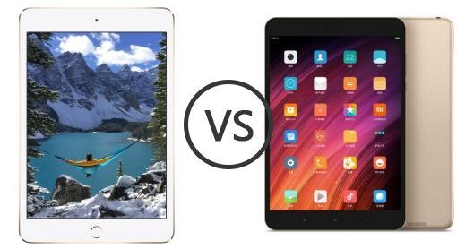 not good xiaomi mi pad vs ipad mini 3 screen