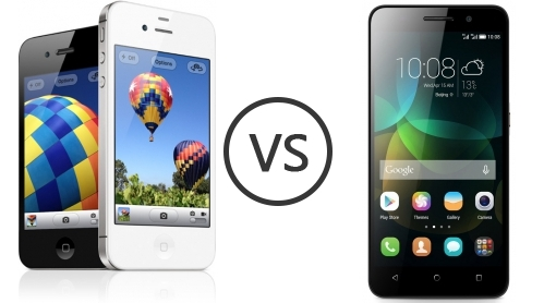 apple iphone 4s apple iphone 4s vs huawei honor 4c phone comparison 2028