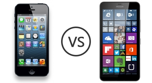 Apple IPhone 5 Vs Microsoft Lumia 640 XL
