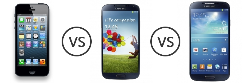compare apple iphone 5 and samsung Check out how apple's hot new iphone 5 compares to its toughest android rival, samsung's galaxy s3.