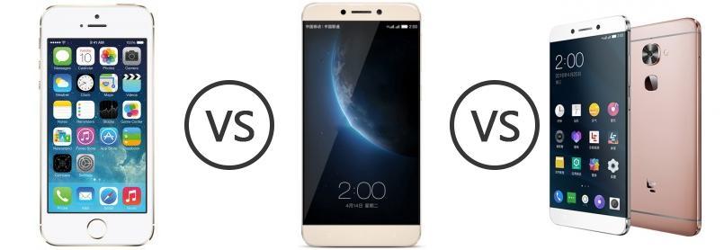 Apple iPhone 5S vs LeEco (LeTV) Le 1s vs LeEco Le 2 ...