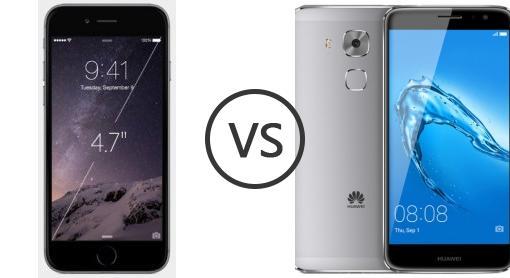 Nova huawei vs iphone 6