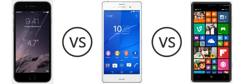 Was not Retail nokia lumia 830 vs sony xperia z3