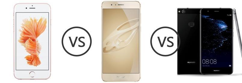 Honor 8 Premium Vs Iphone 6