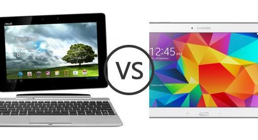 Asus Tablet Vs Samsung Tab 4