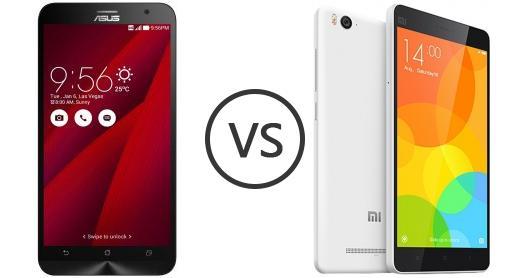 Asus Zenfone 2 ZE551ML Vs Xiaomi Mi 4c