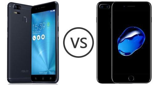 Asus zenfoine zoom s vs iphone 7