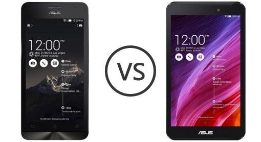 Fonepad Asus Harga Asus Zenfone 5 vs Asus Fonepad