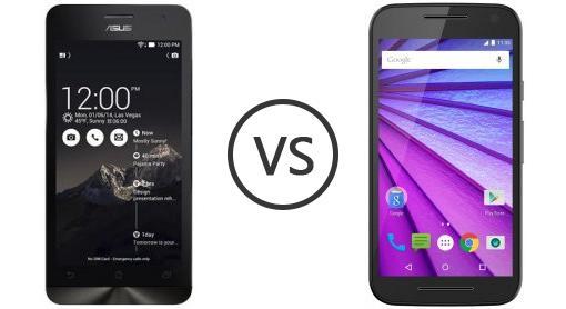 Asus Zenfone 5 Vs Motorola Moto G 3rd Gen