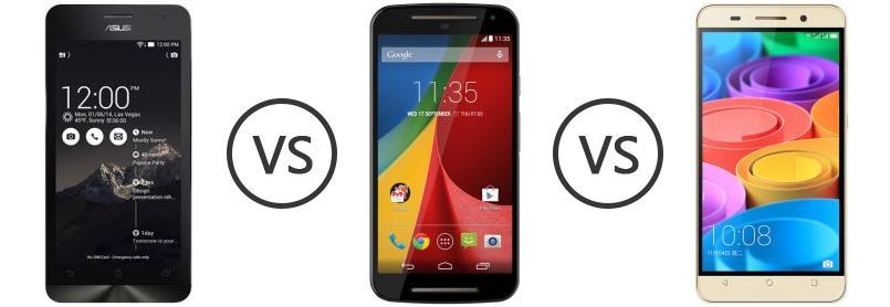 Asus Zenfone 5 Vs Motorola Moto G Dual SIM Gen 2 Vs