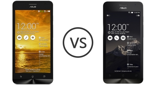Asus Zenfone 5 Lite A502CG Vs C ZC451CG