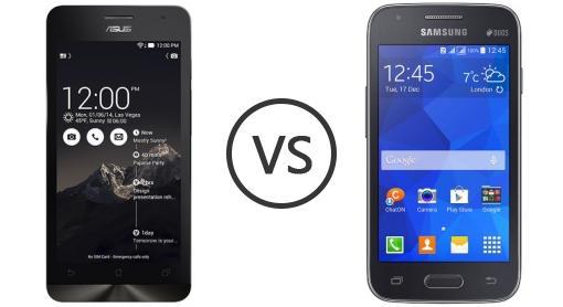 Asus Zenfone C ZC451CG Vs Samsung Galaxy S Duos 3