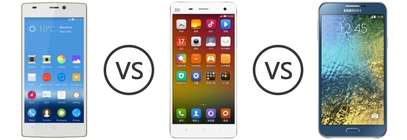 been gionee elife e7 vs xiaomi mi4 you