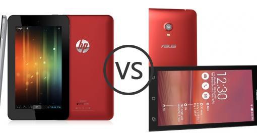 HP Slate 7 Vs Asus Zenfone 6