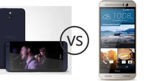 gray htc desire vs htc one m9 wish had card