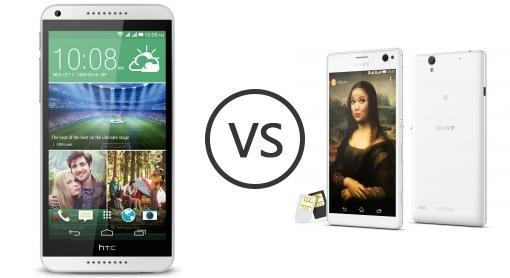 HTC Desire 816G Dual SIM vs Sony Xperia C4 Dual