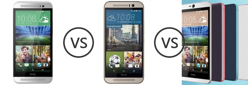 Htc desire vs htc one m9