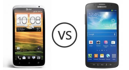 Galaxy S4 Vs Htc One X HTC One X AT&T vs ...
