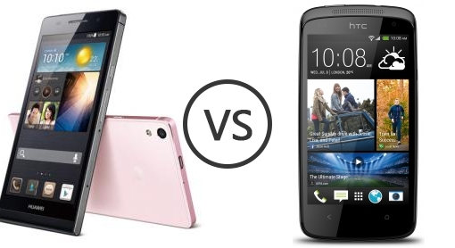 Huawei Ascend P6 vs HTC Desire 500 - Phone Comparison