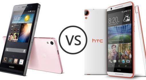 Huawei ascend p6 white vs black