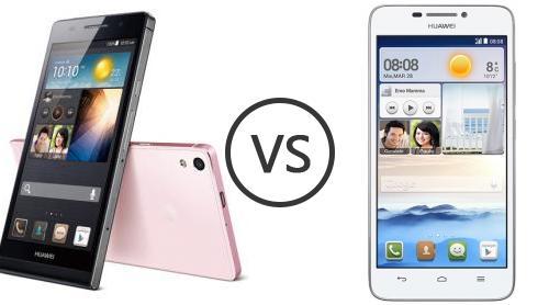 Huawei Ascend P6 vs Huawei Ascend G630 - Phone Comparison