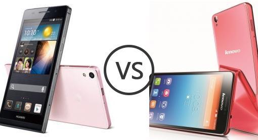 Huawei Ascend P6 vs Lenovo S850 - Phone Comparison