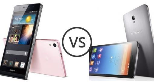 Huawei Ascend P6 vs Lenovo S860 - Phone Comparison