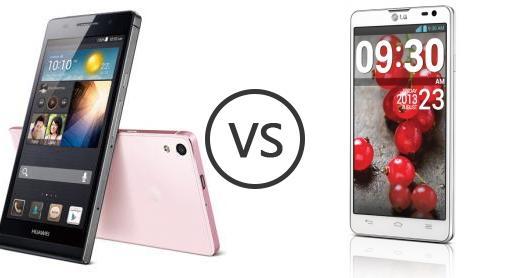 Huawei Ascend P6 vs LG Optimus L9 II - Phone Comparison