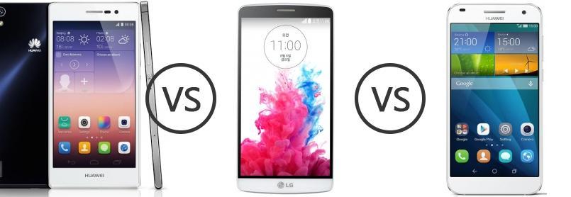 Huawei ascend g7 vs lg g3