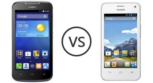 Huawei Ascend Y540 vs Huawei Y360 - Phone Comparison