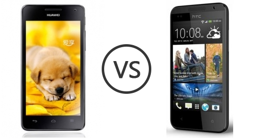 Huawei Honor 2 vs HTC Desire 310