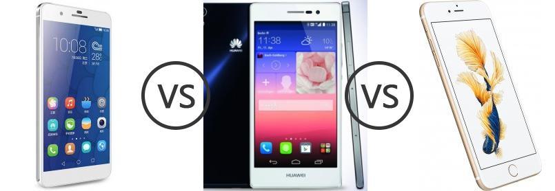 Huawei honor 8 vs iphone 6s