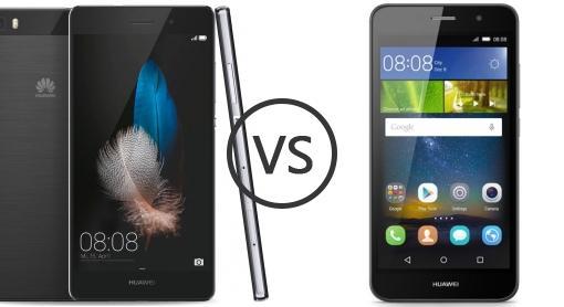 Huawei p8 lite vs huawei y6