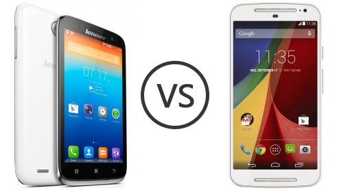Lenovo A859 vs Motorola Moto G (Gen 2)