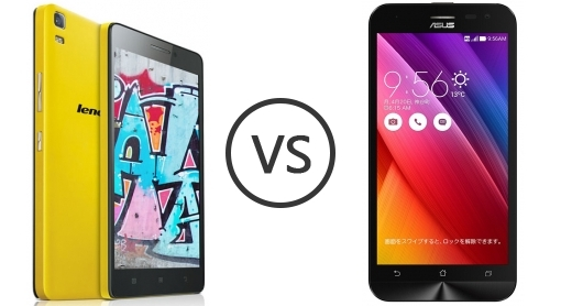 particularly asus zenfone 2 laser vs lenovo k3 note not