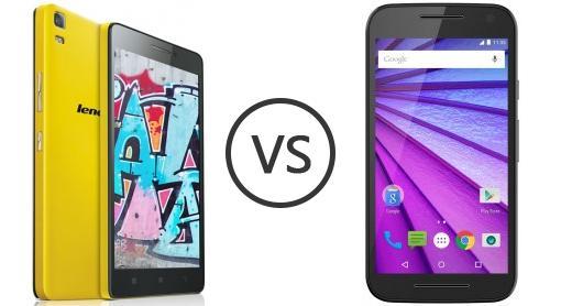 Lenovo K3 Note vs Motorola Moto G (3rd Gen)