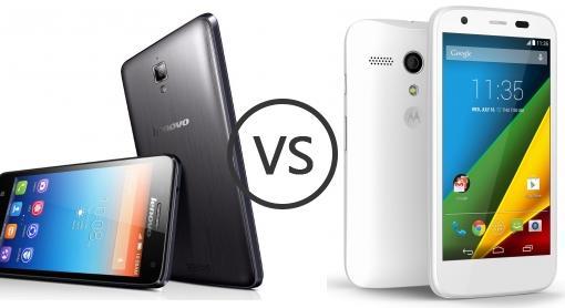 Lenovo S660 vs Motorola Moto G 4G