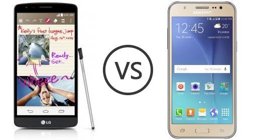 lg g3 stylus vs samsung galaxy j5 phone comparison. Black Bedroom Furniture Sets. Home Design Ideas