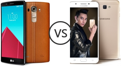 LG G4 Vs Samsung Galaxy J7 Prime