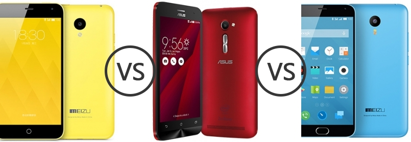 Meizu mx5 vs asus zenfone 2, Asus Zenfone 2 vs Meizu MX5: 86 facts in comparison