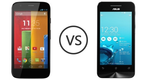 Motorola Moto G Vs Asus Zenfone 4