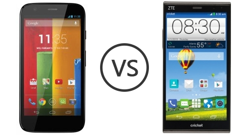 zte grand x vs moto g the green