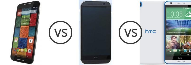 the iPhone's htc one m8 vs motorola moto x had fault