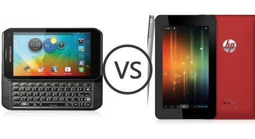Motorola Photon Q 4G LTE Vs HP Slate 7