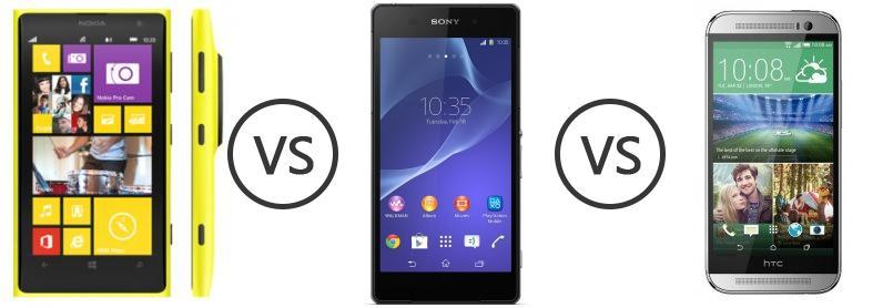 Nokia lumia 1020 vs xperia z2 camera