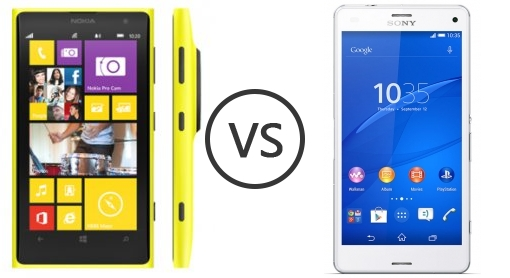 Sony xperia z3 compact d5803 vs d5833