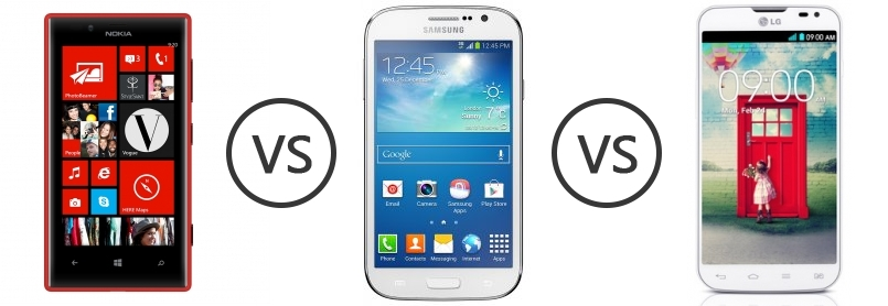 LG L90 vs Lumia 720