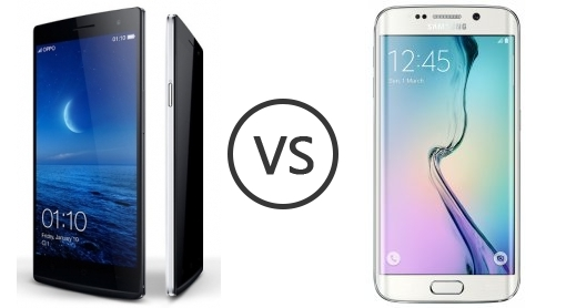 Oppo Find 7 Qhd 1431 Vs Samsung Galaxy S6 Edge 1955