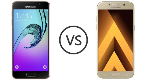 samsung galaxy a3 2016 vs samsung galaxy a3 2017 phone comparison. Black Bedroom Furniture Sets. Home Design Ideas